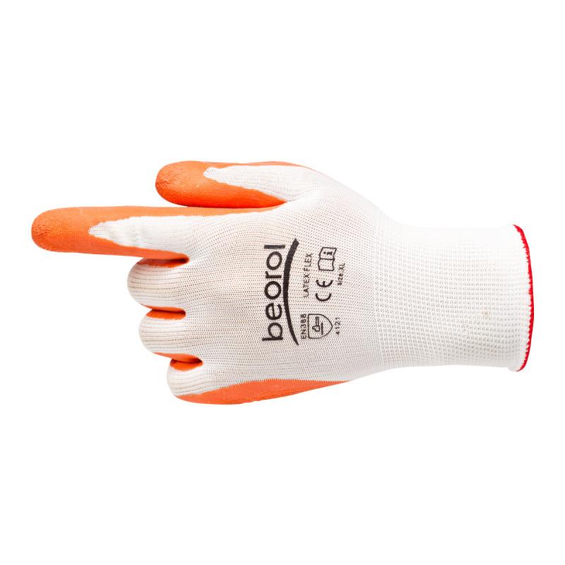 Latex flex gloves