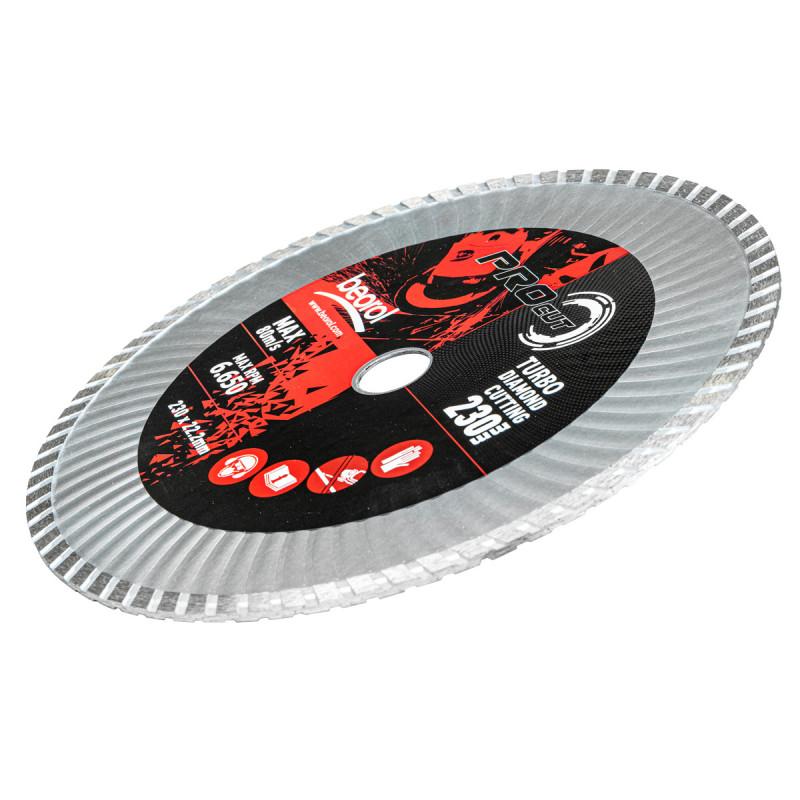 Turbo diamond cutting disc, ø230mm