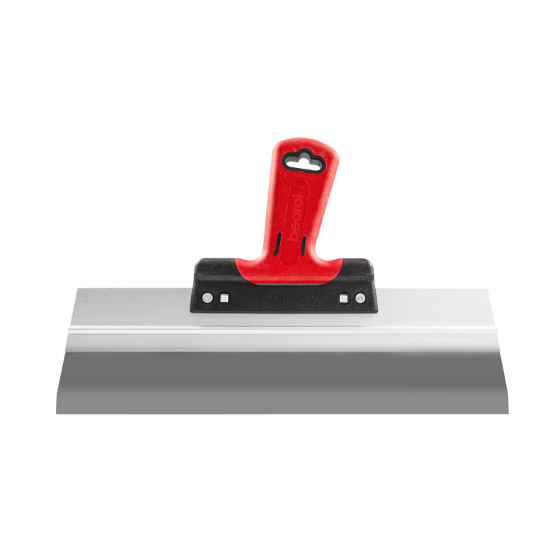 Scraper rubber-plastic handle with hole, steel 40cm