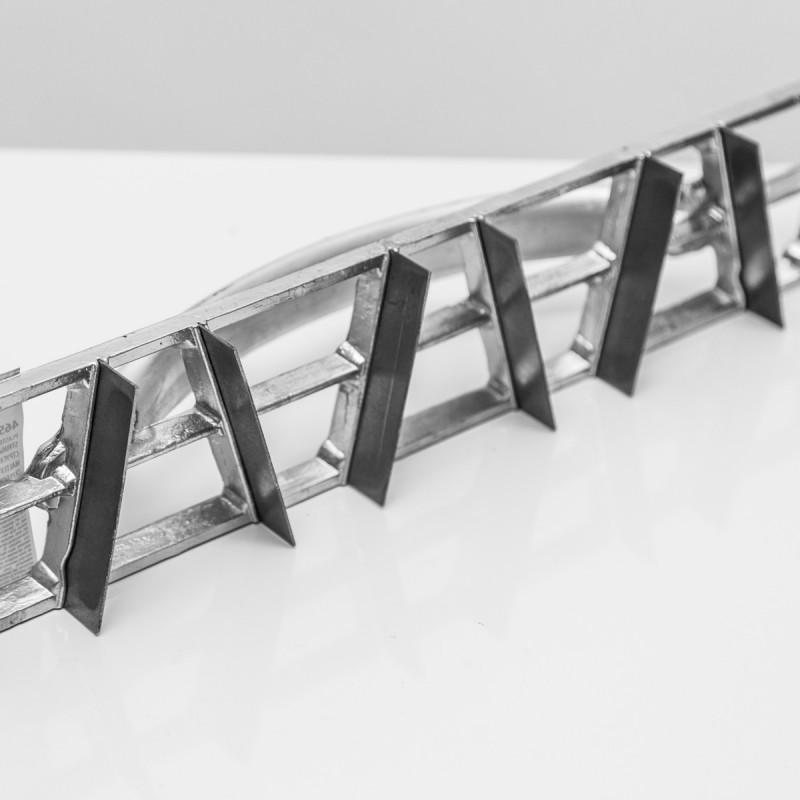Plaster Scraper 8 knives, 465x90mm