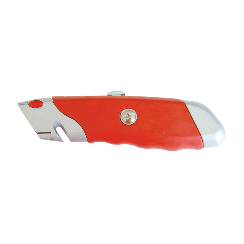 Utility knife, profy, 5 spare blades