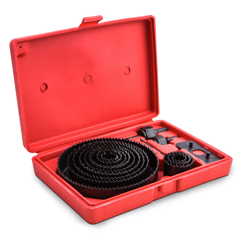 16pcs hole saw set