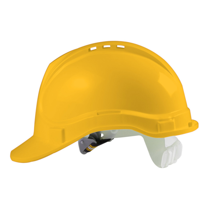 Safety helmet, yellow colour